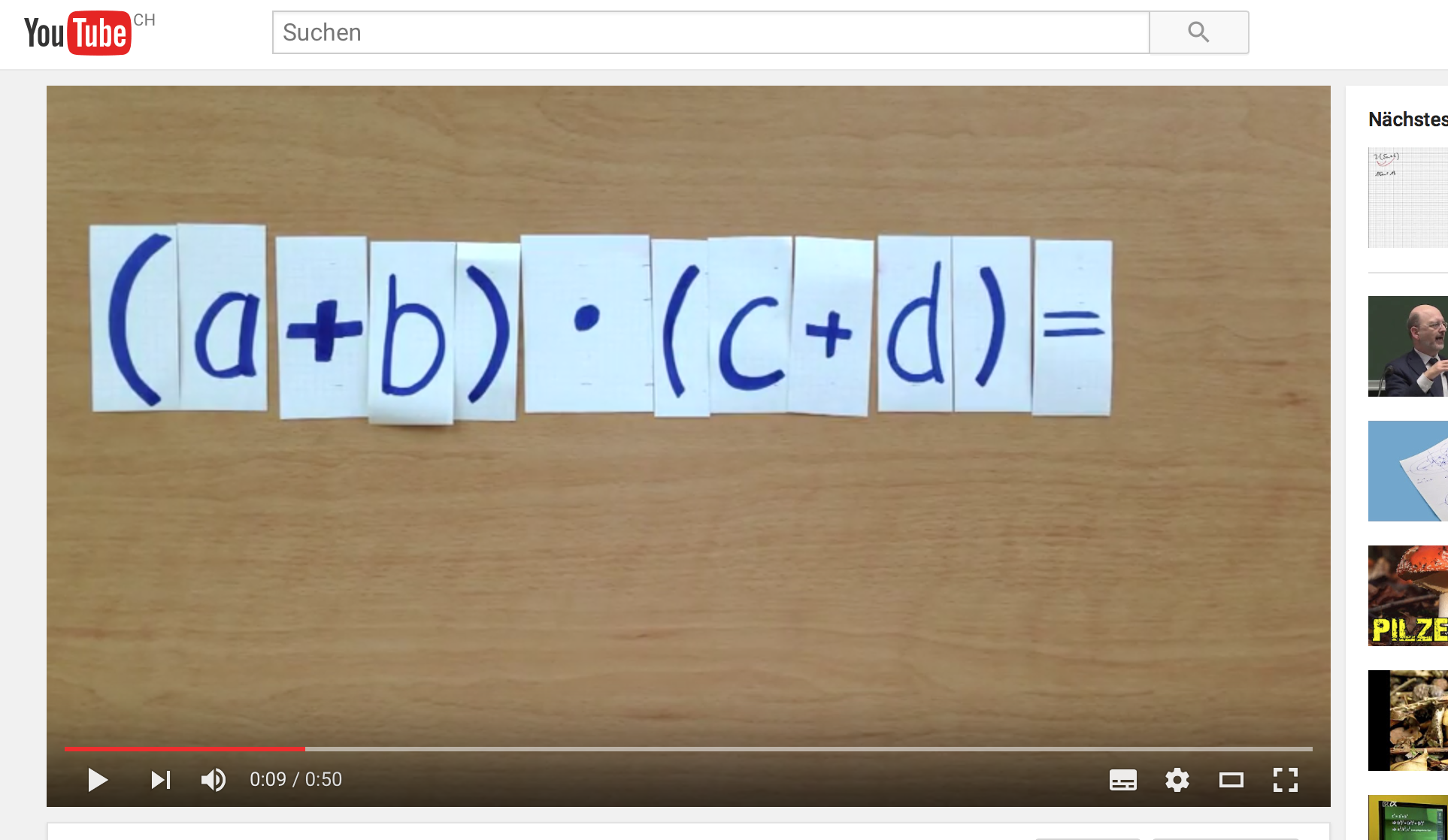 Klassenwebsite | Gilbert Loher | Mathematik